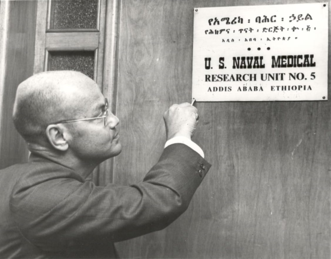1974 - US Naval Medical Research Unit No. 5 in Addis Ababa