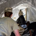 Collective Protection: EMEDS CBRN Tent Liner Exercise