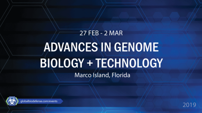 AGBT Advances in Genome Biology and Technology