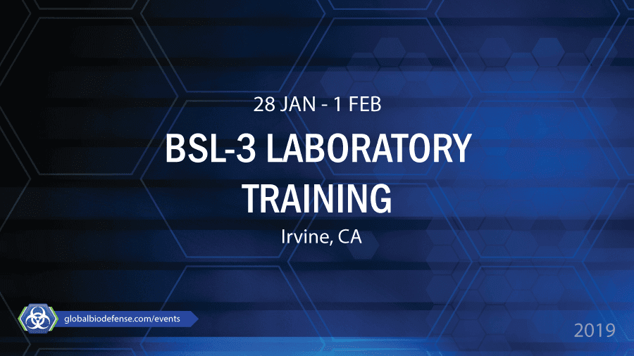 BSL-3 Laboratory Biosafety Training