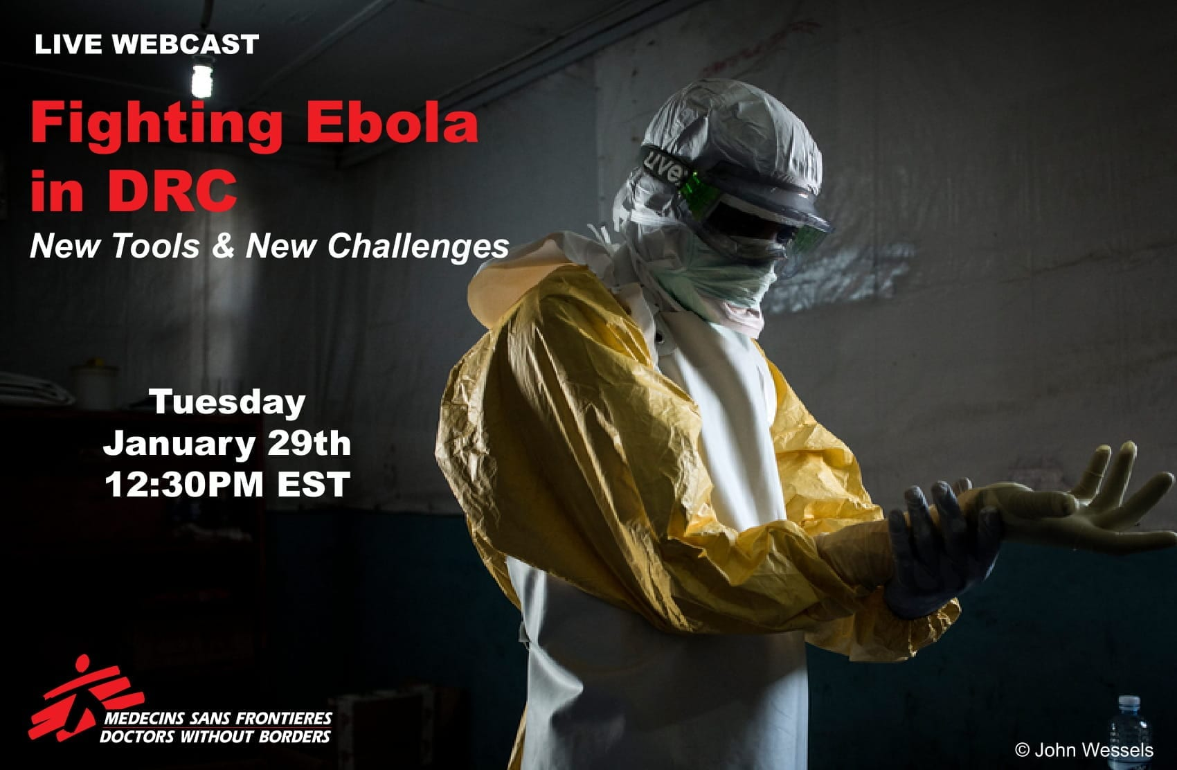 Ebola MSF Doctors Without Border - Webinar