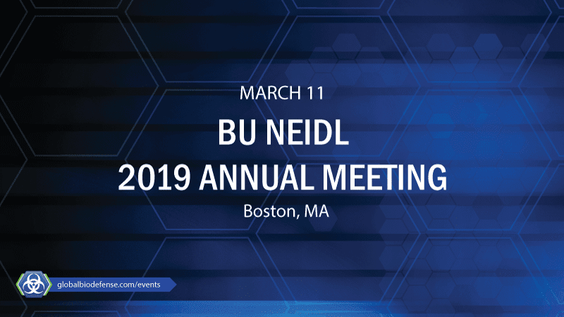 NEIDL Annual Meeting - National Emerging Infectious Diseases
