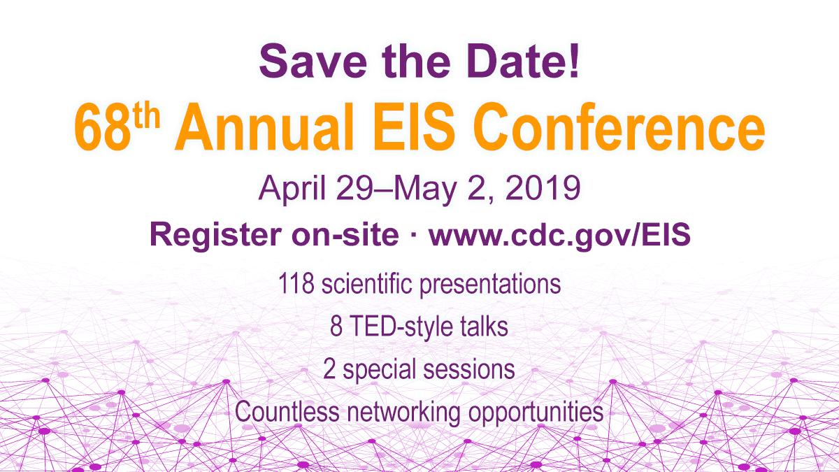 CDC EIS 2019 - Epidemic Intelligence Service