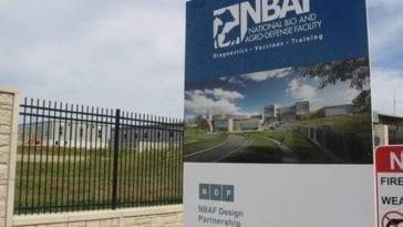 NBAF sign