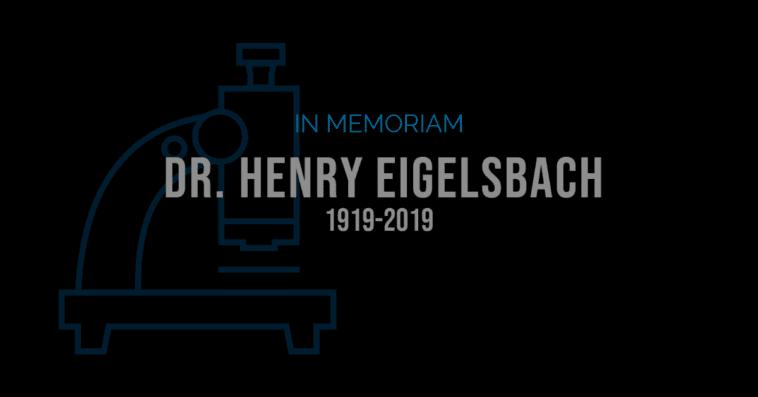 In Memoriam Henry Eigelsbach Fort Detrick